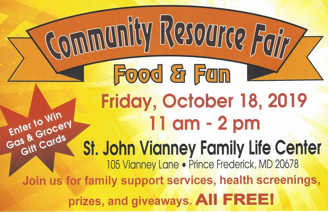 Community Resource Fair at St. John Vianney
